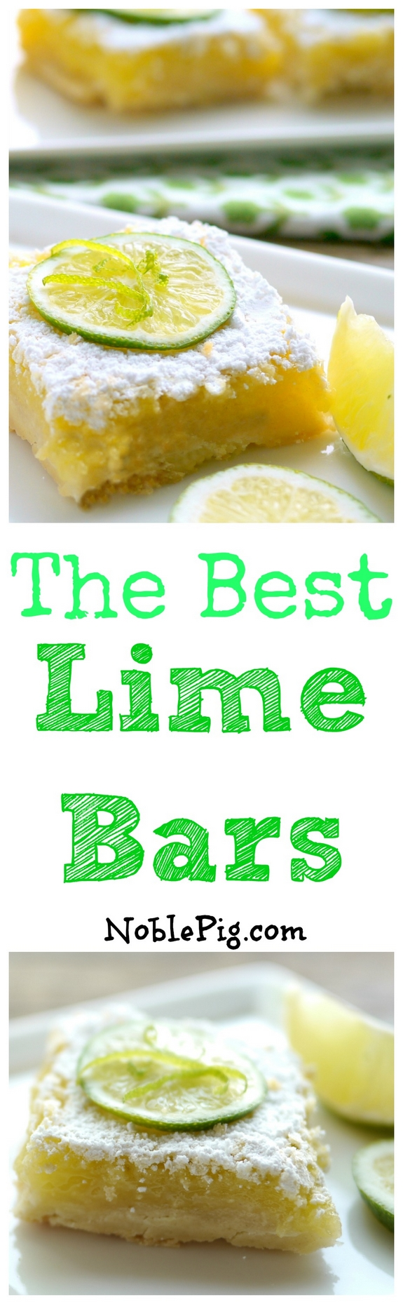 The Best Lime Bars You Could Ever Make
