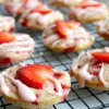 Soft Baked Strawberry Shortcake Cookies
