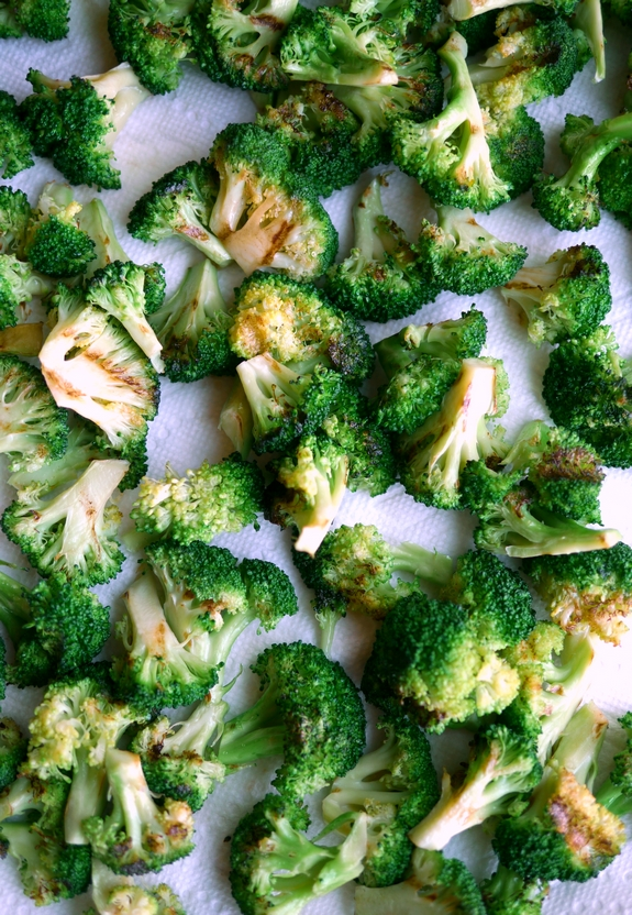 Grilled Broccoli Salad grilled