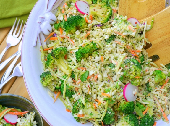Grilled Broccoli Salad is so delicious