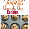 Soft Baked Pumpkin Molasses Chocolate Chip Cookies