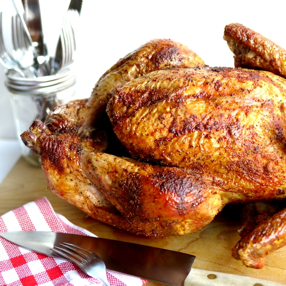 Juicy Smoked Paprika Turkey for the Fall season