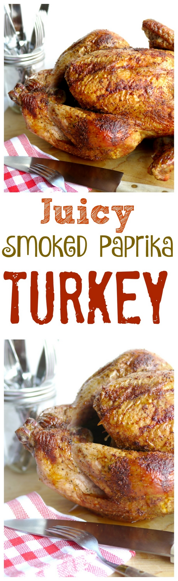 Juicy Smoked Paprika Turkey has about the best flavor around