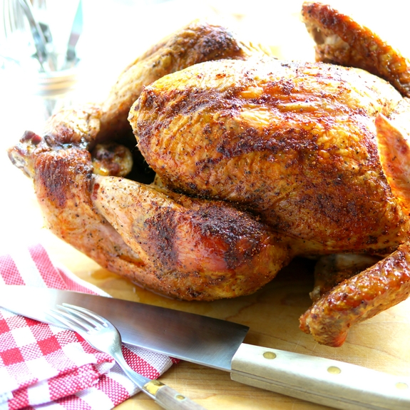 Juicy Smoked Paprika Turkey is delicious