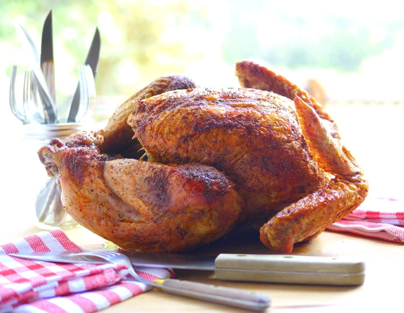 Juicy Smoked Paprika Turkey will make a lovely Fall dinner