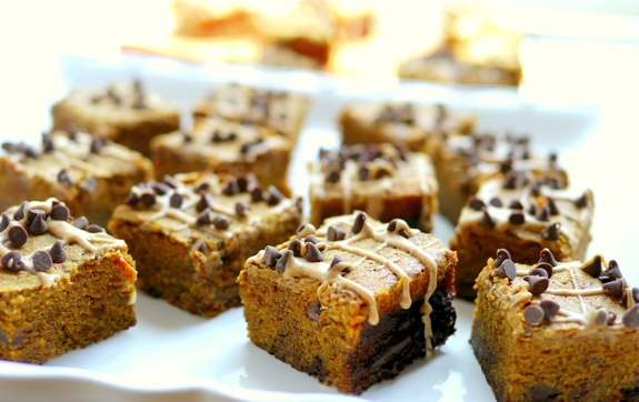 Pumpkin Mocha Fudge Brownies are going to be loved by you