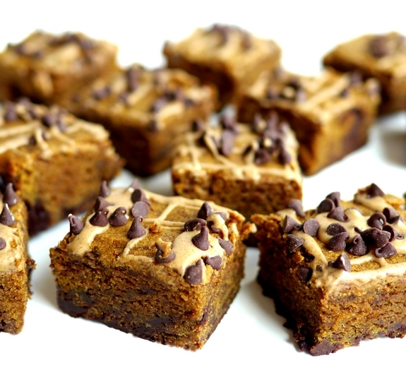 Pumpkin Mocha Fudge Brownies are very delicious