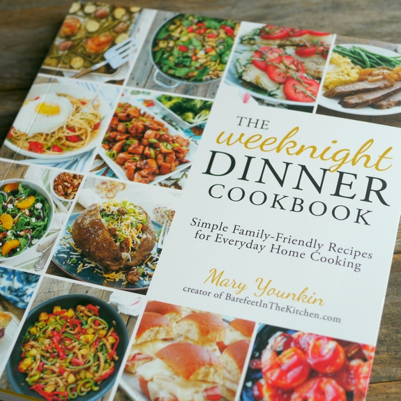 The Weeknight Dinner Cookbook Mary Younkin