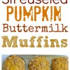 Streuseled Pumpkin Buttermilk Muffins