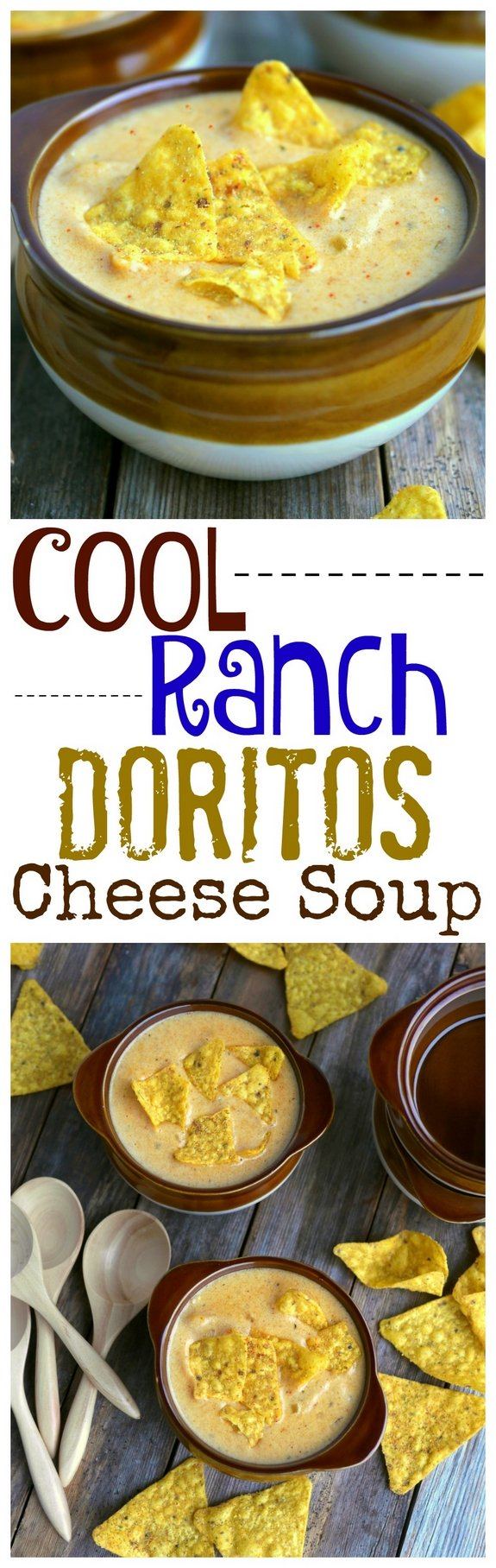 Cool Ranch Doritos Cheese Soup is going to knock your socks off