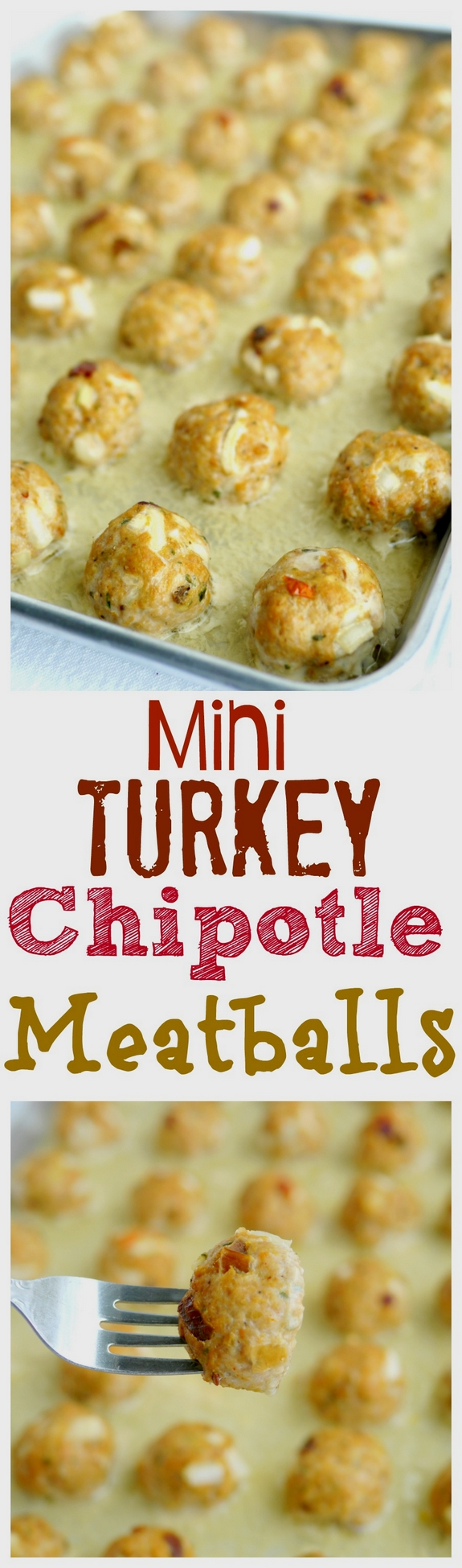 Mini Turkey Chipotle Meatballs