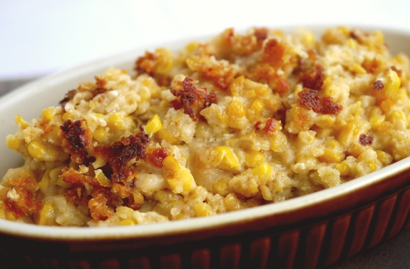 Slow Cooker Sweet Corn Pudding yumminess