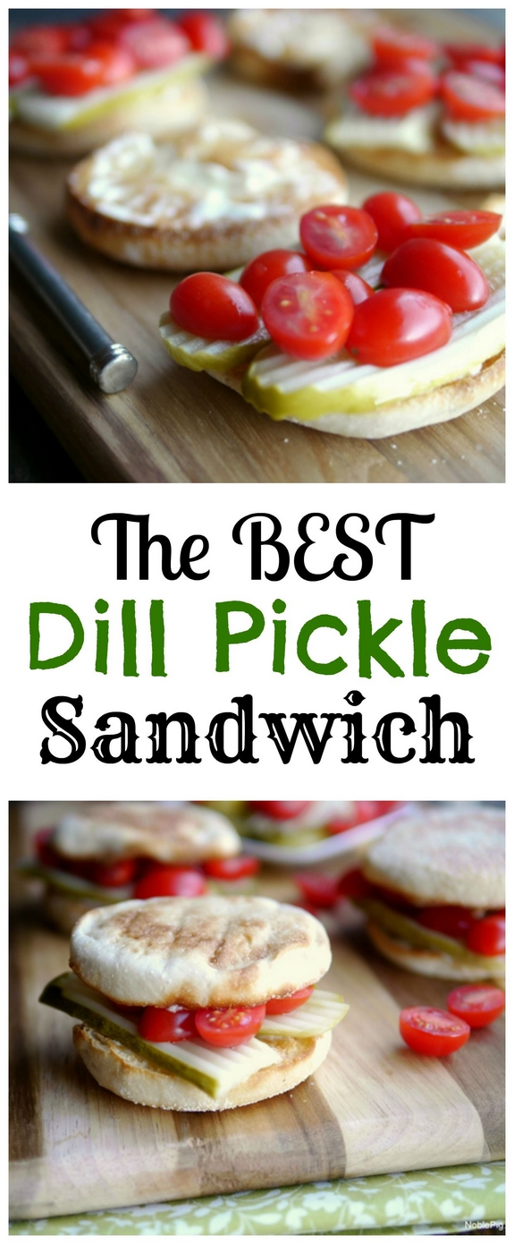 The Best Dill Pickle Sandwich youll just have to trust