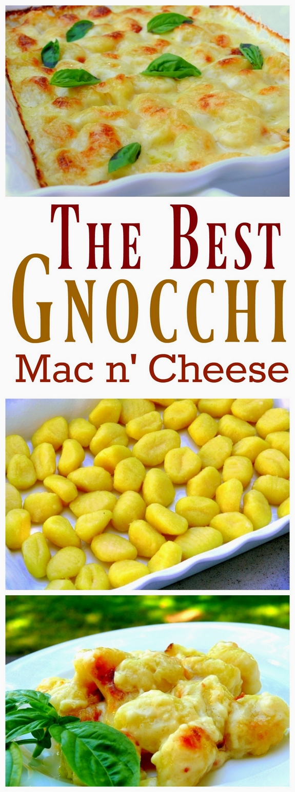 The Best Gnocchi Mac n Cheese