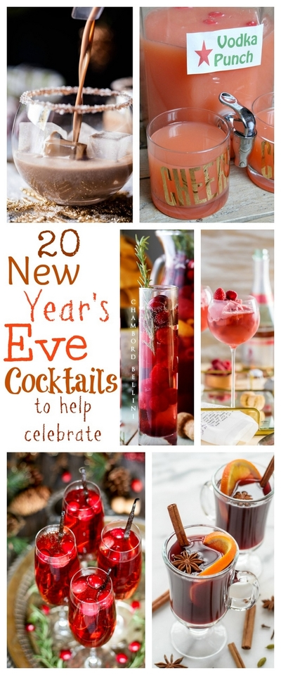 20 New Years Eve Cocktails to Help You Celebrate the Season