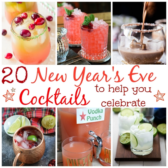 20 New Years Eve Cocktails to Help You Celebrate
