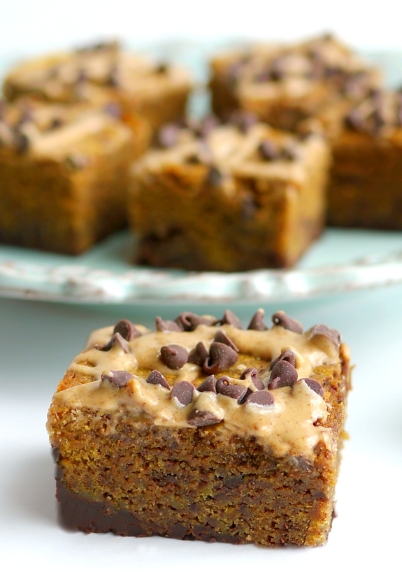 Pumpkin Mocha Fudge Brownies are delicious