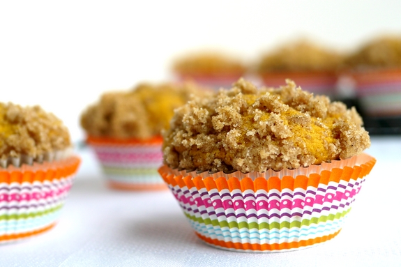 Streuseled Pumpkin Buttermilk Muffins need to be made