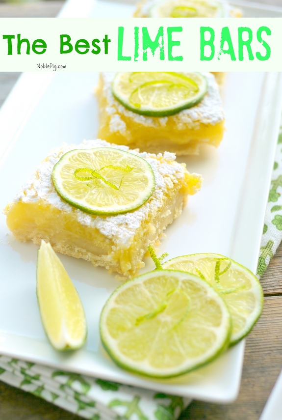 The Best Lime Bars on the planet