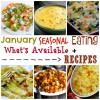 January Seasonal Eating