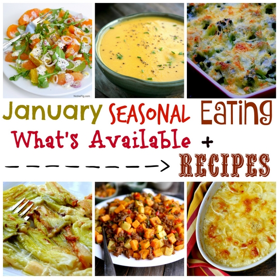 January Seasonal Eating Whats Available Plus Recipes