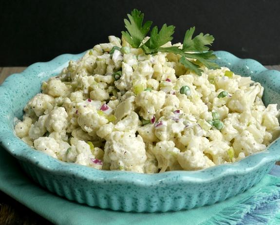 Old Bay Cauliflower Salad