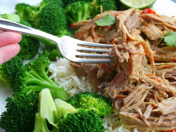 Slow Cooker Thai Pulled Pork