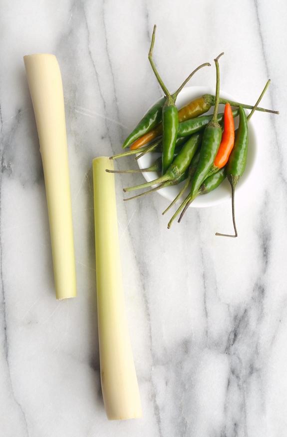 Slow Cooker Thai Pulled Pork lemon