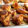 "Potato Chip-Bisquick Oven ""Fried"" Drumsticks + VIDEO"