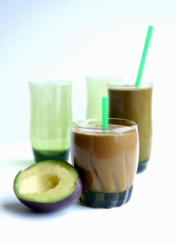 Chocolate Avocado Green Smoothie