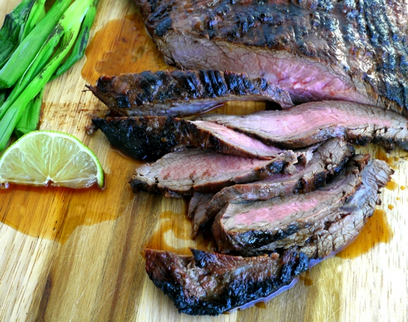 Filipino-Style Grilled Flank Steak
