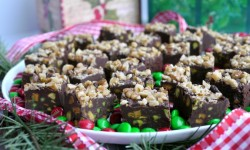 No-Fail Pistachio and Walnut Fudge