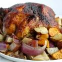 Roasted Apple Butter Chicken