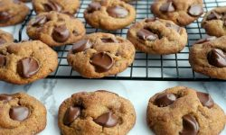 The Quickest Peanut Butter Banana Chocolate Chip Cookies