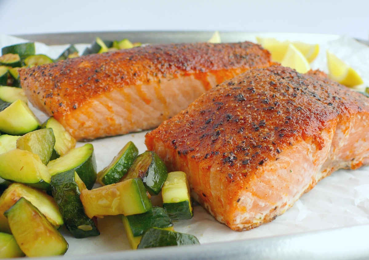perfect air fryer salmon noble pig