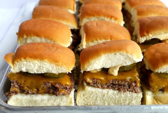 Sheet Pan Sliders with Copykat Big Mac Sauce