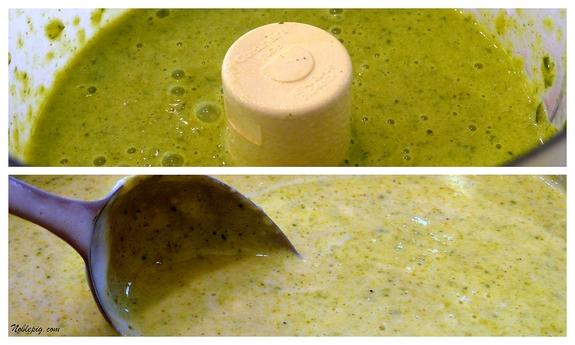 Juicing recipes using a food processor