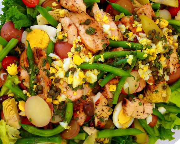 Farmers Market Salad Recipe — Dishmaps