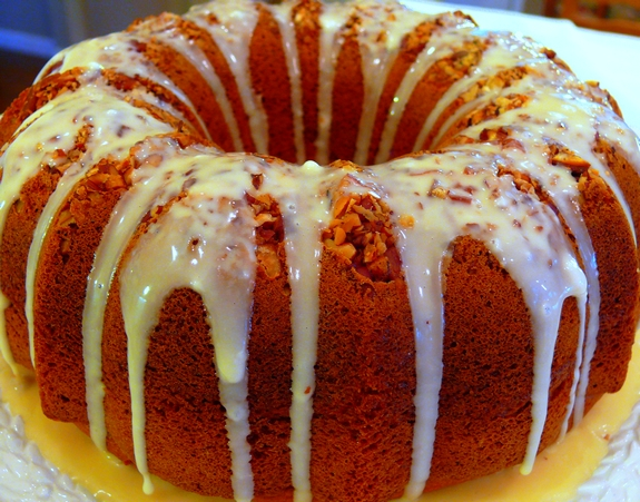 7 up cake with orange glaze noble pig for Easy bundt cake recipes from scratch
