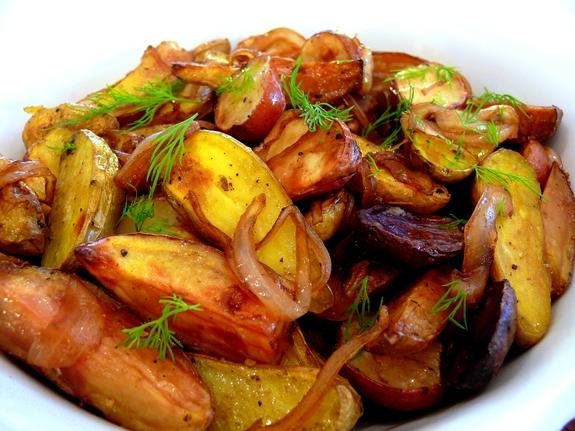 Balsamic And Rosemary Glazed Fingerling Potatoes Recipes — Dishmaps