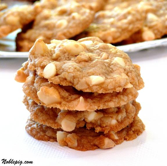 Pumpkin White Chocolate And Macadamia Nut Cookies Recipes — Dishmaps