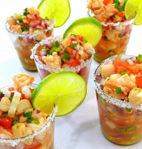 Seafood Ceviche Recipe — Dishmaps
