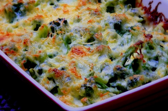 ... broccoli gratin with swiss put the broccoli in a large and broccoli