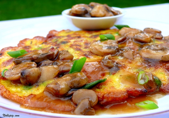 simple chicken egg foo young recipe