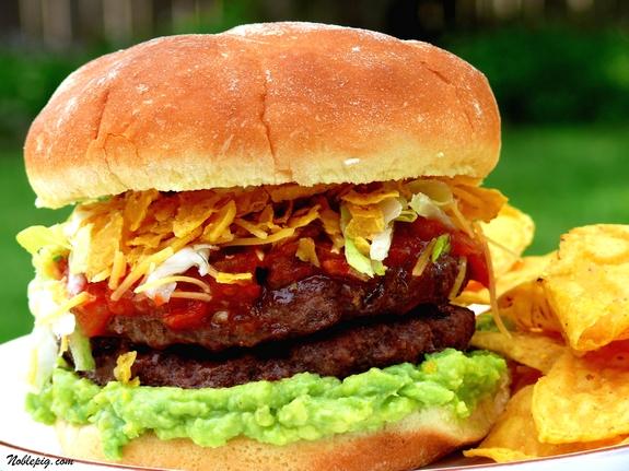 Taco Burger | Noble Pig