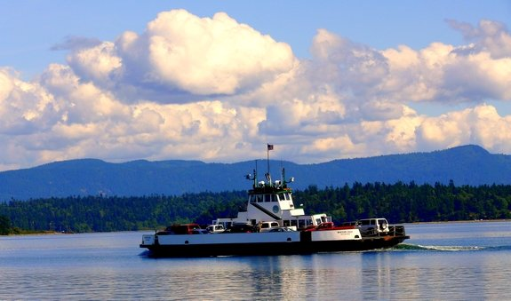 Lummi Island Ferry Whatcom County Wa