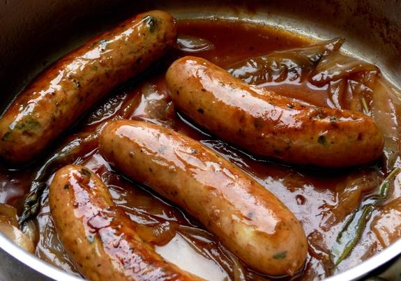 ... hot spiced cider cider glazed sausage cider glazed chicken sausages