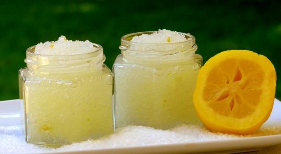Image result for lemon scrub