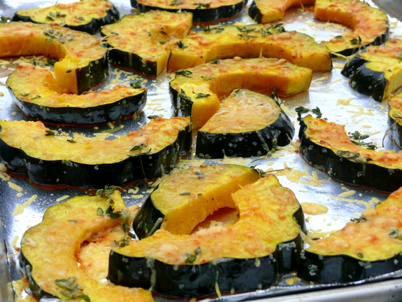 Parmesan-Roasted Acorn Squash | Noble Pig