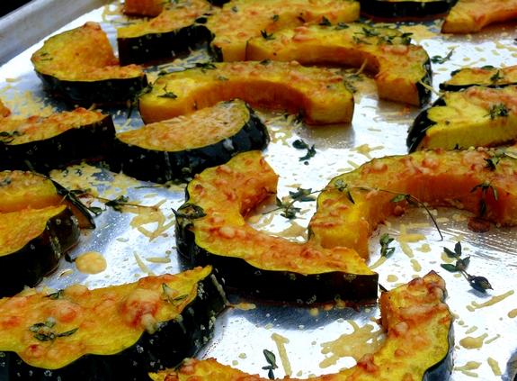 Parmesan-Roasted Acorn Squash | Noble Pig